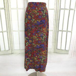 Vintage Mikaela New York Midi Pencil Skirt